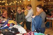 Burza zimního oblečení v Rokycanech