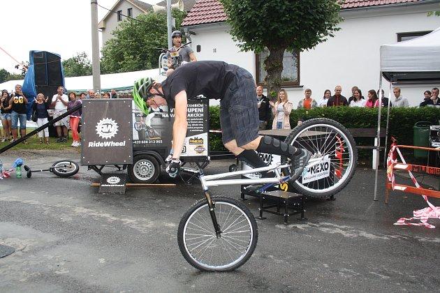 Exhibice RideWheel Honza Šmíd a  Lukáš Müller.