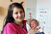 MILOŠ DŘÍMAL z Rokycan si pro svůj příchod na svět vybral datum 3. dubna. Narodil se deset minut po páté ráno. Maminka Jana a tatínek Miloš, který byl u porodu pomáhat, věděli dopředu, že prvorozené dítě bude chlapeček. Míry 52 cm a 3400 gramů.