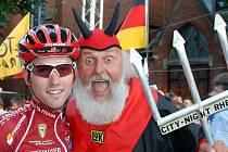 Slavný maskot Tour de France a ostatních velkých cyklistických akcí – Čert DIDI – nebude na pátení Velké ceně Rokycan rozhodně chybět.