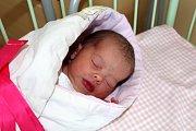 ADÉLA MAŠKOVÁ ze Stupna se narodila 18. prosince ráno, čtyři minuty před čtvrtou. Rodiče Ilona a Jaromír znali pohlaví svého prvního potomka dopředu. Adélka vážila 2630 gramů, měřila 46 cm.