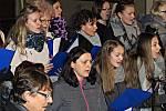 Na Štědrý den odpoledne od 15 hodin se uskutečnilo v kostele sv. Vavřince ve Stupně tradiční Vánoční zpívání.