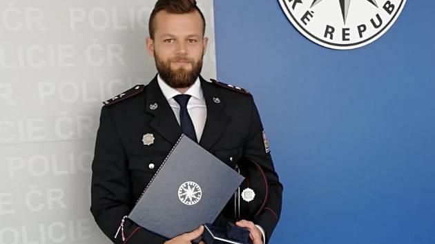Zdeněk Dubček z PS Zbiroh byl oceněný za záchranu životů lidí a zadržení převaděčů.