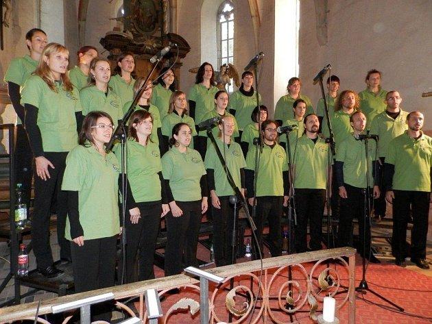 Plzeňský smíšený sbor Canticorum vystoupil o víkendu v Mýtě