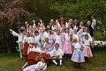 Vítězové folklórní soutěže v Hrádku