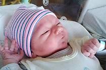 Martin Giňa z Kařezu se narodil 24. července 2019 v hořovické porodnici. Z Martínka se radují maminka Sabina Giňová, tatínek Martin Onodi a sestřička Nelinka Onodiová. Foto: Rodina