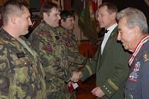 Vojensko-historický ples ve Volduchách.