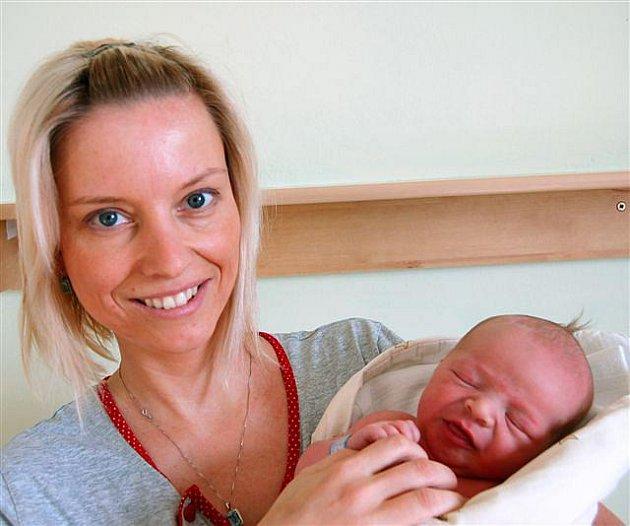 David Houdek  z Oseka  spatřil světlo světa 9. února ve 12 hodin a 45 minut. Davídek vážil při narození 3470 gramů, měřil 50 cm.