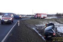 Nehoda u Kamenného Újezdu.