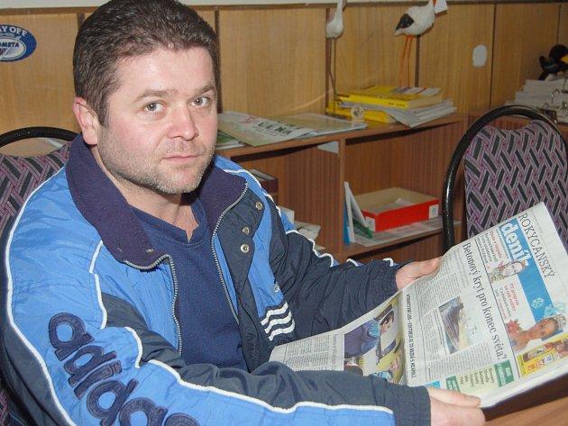 Ján Novák od Bardejova žije v Rokycanech už patnáct let.