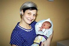 Martin SEDLÁČEK z Plzně se na sále rokycanské nemocnice narodil 13. prosince odpoledne, čtyři minuty po čtvrté. Manželé Helena a Martin se nechali pohlavím svého prvního miminka překvapit až na porodní sál. Malý Martínek vážil 2850 gramů, měřil 47 cm.