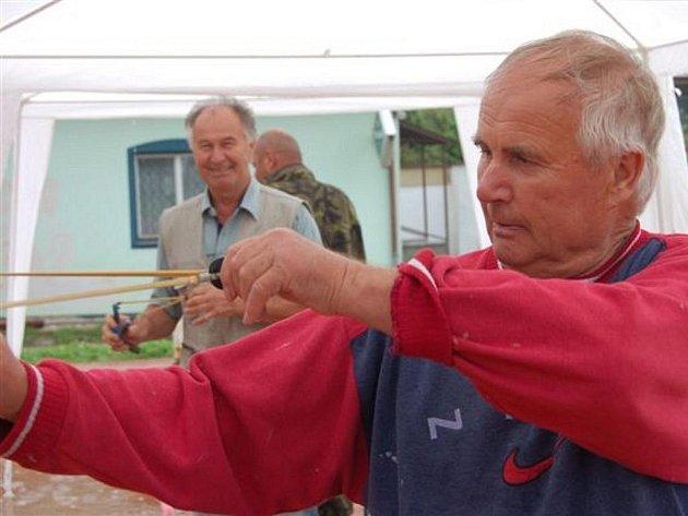 Šíspraková divize Brdy pořádala další ročník Hůrecké prakyády.