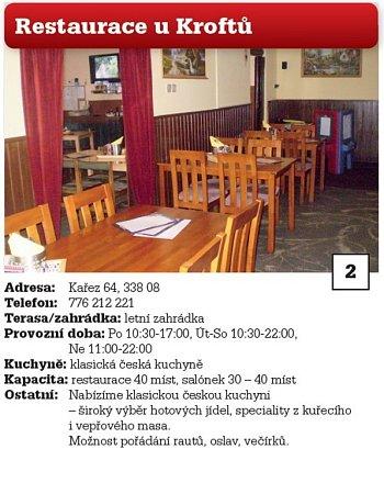 2. Restaurace uKroftů