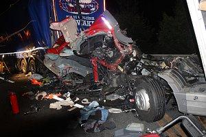 Smrtelná nehoda na dálnici D5 u Ejpovic.