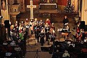 Vánoční koncert v kostele ve Stupně
