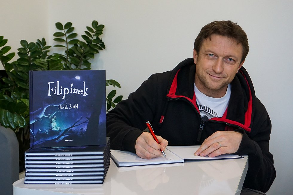 Marek Šnábl a jeho prvotina pro děti.