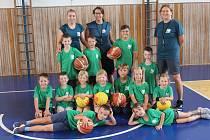 Příměstský tábor malých basketbalistů