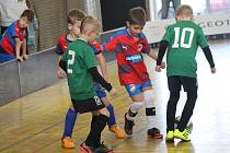 Halový turnaj fotbalového potěru v Rokycanech