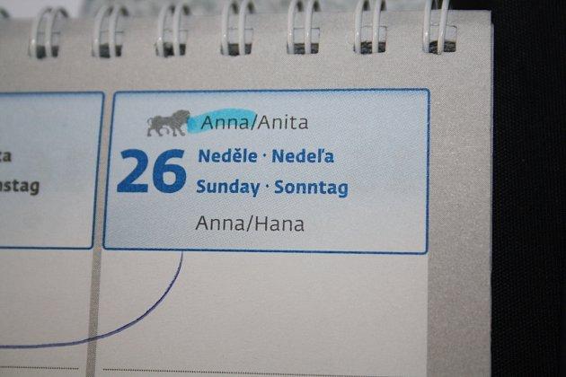 Svátek Anny připadá na šestadvacátého července.