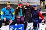 Manželé Šnebergerovi, Ján Korytár i Petr Minařík zvládli perfektně úvodní závod sezony. Při půlmaratonu v Plzni (přes 21 km) se všichni ocitli na bedně.