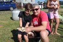 Premiérovým úlovkem se pochlubil ve Veselé Kuba Dusík. A stál za to, protože amur měřil 52 centimetrů. Po přeměření skončil zpět v rybníku.
