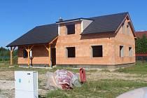 Výstavba nových domů v Cheznovicích
