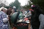 Mnoho masek se ukázalo v sobotu díky masopustu v Příkosicích.