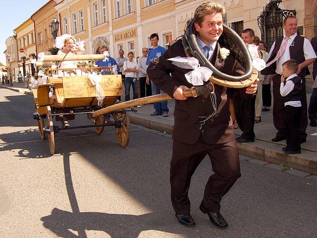Poslední veselka, která se uskutečnila v sobotu v Rokycanech, se týkala Jana Nováka a Věry Gulášové.