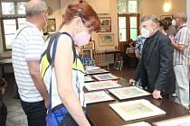 Rokycanský rodák vystavuje v Zeleném domě na Masarykově náměstí