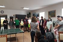 Ping pongový turnaj v Siré