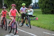 Malí cyklisté nabíraly zkušenosti na dopravním hřišti