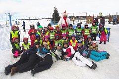 PŘEDŠKOLÁCI Z POHÁDKY si užili krásný týden na škole v přírodě v Krušných horách.