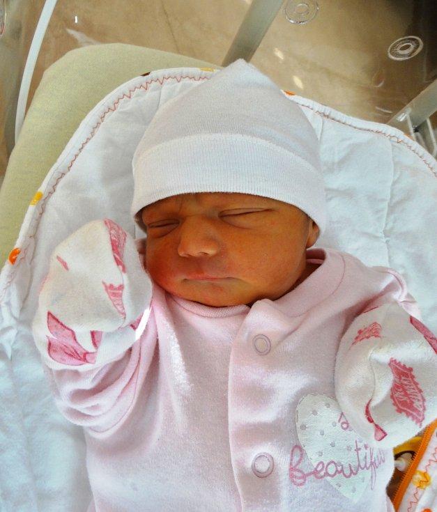MARIE ROZÁLIE GOROLOVÁ se narodila 9. února v 10:01 mamince Marii a tatínkovi Janovi z Rokycan. Po příchodu na svět v plzeňské fakultní nemocnici vážila jejich prvorozená dcerka 2800 gramů a měřila 45 centimetrů.
