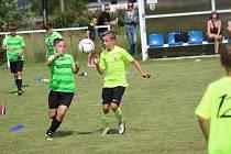 Turnaj fotbalové mládeže v Němčovicích