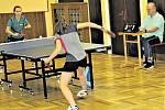 z kalichu hořkosti pily prvoligové stolní tenistky TJ Hrádek (na vzdálenější straně) zejména při debaklu 0:10 s bývalým účastníkem nejvyšší soutěže z Vlašimi.