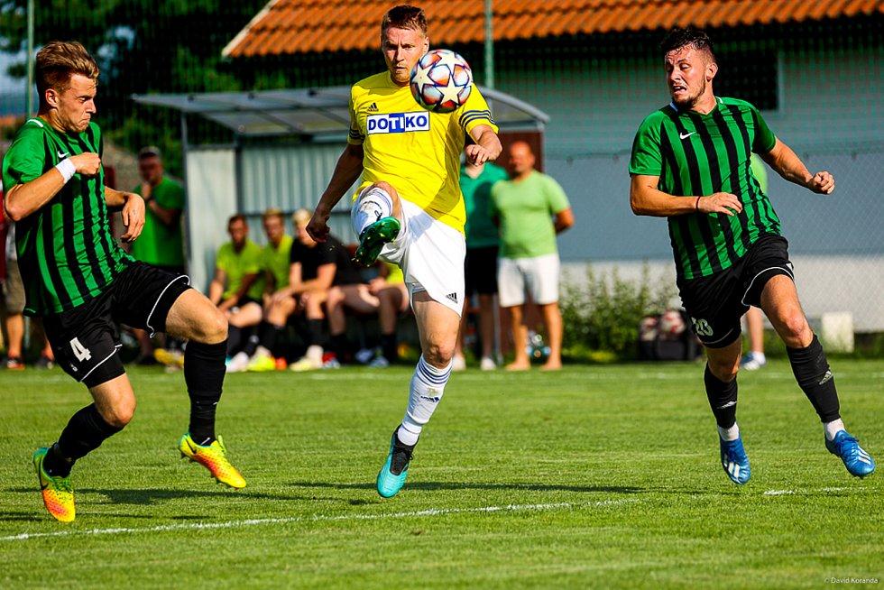 Jiskra Domažlice - FC Rokycany 2:2 (2:2)