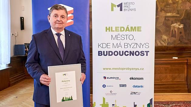 Starosta Rokycan Václav Kočí.