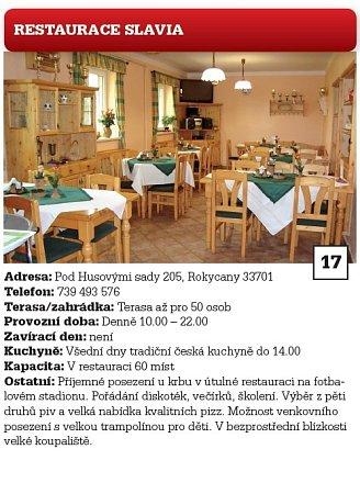 17. Restaurace Slavia