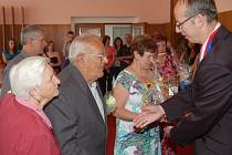 Blažena a Jiří Müllerovi oslavili platinovou svatbu.