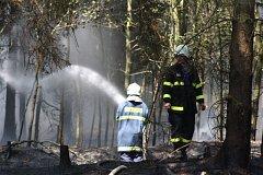 Požár u Pavlovska.