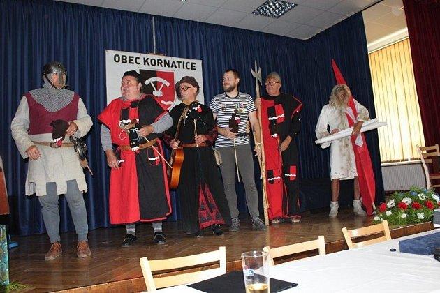 Oslavy výročí založení obce v Kornaticích
