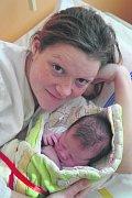 Kristýna ČERNÁ z Blovic přišla na svět na sále rokycanské porodnice 25. února 2014. Narodila se v 9 hodin a 17 minut. Maminka Silvie Černá a tatínek Michal Škola věděli dopředu, že jejich první dítě bude holčička. Kristýnka vážila 3500 gramů, měřila 50 cm