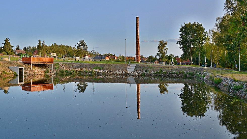 Opravený rybník
