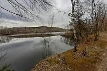Ejpovické jezero.