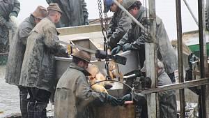 Rybáři lovili v Cekově i na Padrti