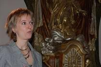 Ve zcela zaplněném oseckém kostele vystoupila v sobotu večer Lucie Škrháková. Absolventka konzervatoře  a Janáčkovy akademie múzických umění v Brně sklidila při koncertu varhanních skladeb dlouhotrvající potlesk.