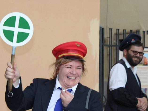 Jede, jede mašinka aneb dvanáctý ročník muzejní noci v Rokycanech byl na sklonku týdne zasvěcen železnici.