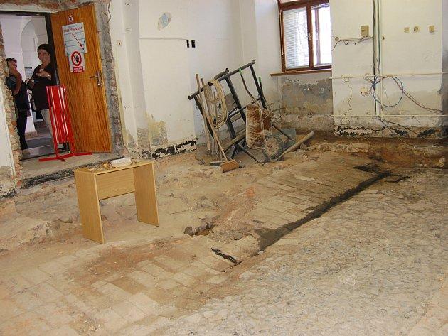 Poslední překvapení vloni připravila úprava přízemních prostor rokycanské radnice.