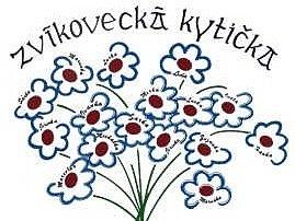 Zvíkovecká kytička - Logo