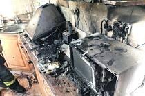 Po požáru od rychlovarné konvice vznikla škoda půl milionu.